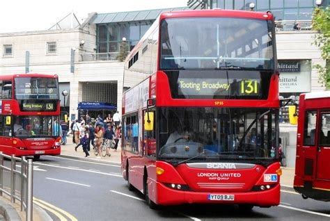 London Bus Routes | Route 131: Kingston - Tooting Broadway