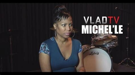 Exclusive! Michel'le Details How She Hooked Up w/ Suge
