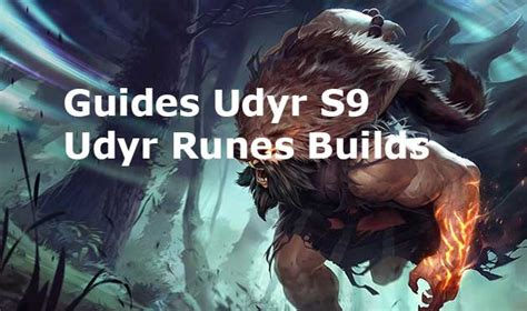 Udyr Runes Builds s9 - Guides pro build Udyr Jungle